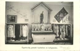 Belgique - Tremelo - Pater Damiaan Muzeum - Eigenhandig Gemaakt Hoofdaltaar En Kerkgewaden - Tremelo