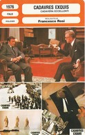 - 1976 -  ITALIE - POLICIER - CADAVRES EXQUIS  - 072 - Autres