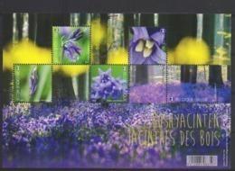 Blok 247**Boshyacinten - 4672/76** Bloeiend Bos / Les Jacinthes Des Bois (en Fleur) 2017 - Blocks & Sheetlets 1962-....