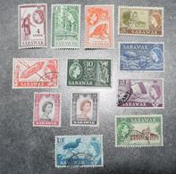 SARAWAK  STAMPS  Stock Page 1955  Mint And Used    ~~L@@K~~ - Sarawak (...-1963)