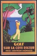 CPM Golf Sport Nice Monaco Menton Non Circulé - Golf