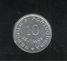 10 Centavos Sao Tomé Et Principe 1971 Colonie Portugaise - Portugal