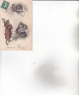CPA ILLUSTRATEUR Signée : R.ULREICH. ( M.M.VIENNE. M.MUNCH N°506.) Lapins à Comportement Humain. - Redon