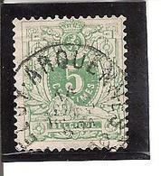 Belgique N° 45 'Feluy-Arquennes' Y102 - 1893-1907 Armoiries