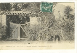 Carte Postale Ancienne Saint Raphaël - Ancienne Habitation D'Alphonse Karr - Saint-Raphaël