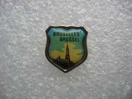 Pin's Ville De BRUSSEL, BRUXELLES - Cities