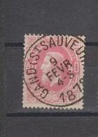 COB 34 Oblitération Centrale GAND (St-Sauveur) Superbe - 1869-1883 Léopold II
