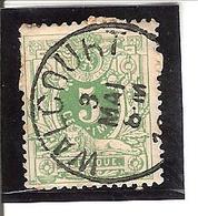 Belgique N° 45 WALCOURT Y105 - 1893-1907 Armoiries