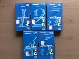 """Raccolta 5 Cassette VHS """"Azzurro Mondiale"""" La Stampa 1998 - Sports"""