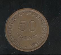 50 Centavos Timor 1970 - Coins