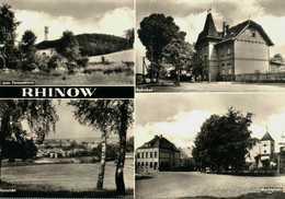 Rhinow. Bahnhof. Marktplatz - Rhinow