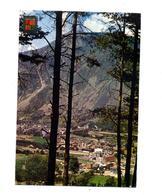 Carte Andorre La Vieille Flamme Sur Fleur - Andorra