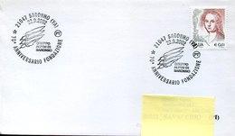 54109 Italia,special Postmark 2002 Saronno 70° Anniversario Fondazione Gruppo Alpini Di Saronno - Géologie