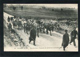 CPA - GUERRE De 1914 - Territoriaux Français Du Service De Ravitaillement, Animé - Guerre 1914-18