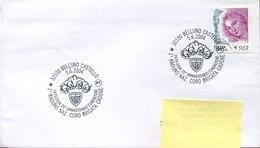 54115 Italia,special Postmark 2004 Belluno 1°raduno Coro Brigata Alpini Cadore - Géologie