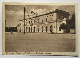AVERSA - PIAZZA DEL LITTORIO E STAZIONE CENTRALE - NV  FG - Aversa