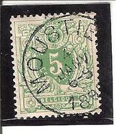 Belgique N° 45 MOUSTIER Y106 - 1893-1907 Armoiries