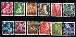 Liechtenstein YT N° 251/262 Neufs ** MNH. TB. A Saisir! - Liechtenstein