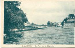 CPA - JARNAC - LE PONT SUR LA CHARENTE (IMPECCABLE) - Jarnac
