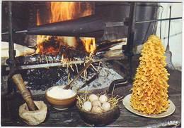 RECETTES . CUISINE . LE GATEAU A LA BROCHE Ou ROCHER DES PYRENEES . Editeur THEOJAC - Recettes (cuisine)