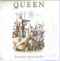 """45 Tours SP -  QUEEN   - PARLOPHONE 204533   """" THE SHAW MUST GO ON """" + 1 - Otros - Canción Inglesa"""