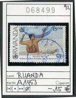 Ruanda - Rwanda - Michel A1453  - Oo Oblit. Used Gebruikt - - Rwanda