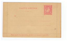 Monaco Entier Postal N°200 Carte Lettre Neuve De 1886 Avec Prince Charles III Cote 17€ - Entiers Postaux