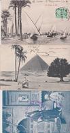 Egypte  - Lot De 12 Cartes Postales Anciennes - Cartes Postales