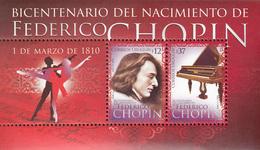 Uruguay 2010. Chopin. Michel BL107, MNH 27248 - Musique