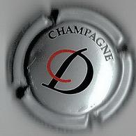 DOUARD Christian  N° 7  Lambert - 2020  53/14  Gris, CD Noir Et Rouge - Ruinart Ruinart