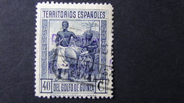 Spanish Guinea - 1931 - Mi:ES-GN 176, Sn:ES-GN 242, Yt:ES-GN 255 O - Hand Stamp Overprinted !! - Look Scan - Guinea Española