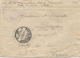Cachet Militaire : FRONT ITALIEN - 1. Weltkrieg 1914-1918