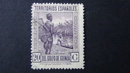 Spanish Guinea - 1931 - Mi:ES-GN 159, Sn:ES-GN 225, Yt:ES-GN 238 O - Look Scan - Guinea Española