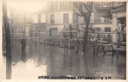 PARIS-13-CARTE-PHOTO- AVENUE DE LA GARE- RUE NATIONALE - Arrondissement: 13
