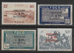 TOGO 1941 YT 211/214** - Ungebraucht