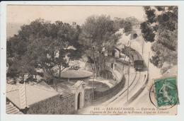 HYERES - VAR - SAN SALVADOUR - GARE - ENTREE DU TUNNEL - TRAIN LIGNE SUD FRANCE TOULON SAINT RAPHAEL - Hyeres