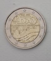 PIECE DE 2 EURO  -  DDAY -  Bataille De Normandie - 2014 - Collezioni