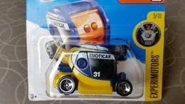 Hot Wheels Experimotors Emoticar Blue 5/10 - HotWheels