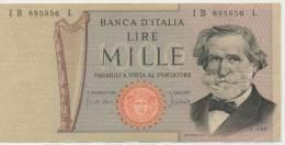 ITALY P. 101b 1000 L 1971  VF - 1000 Lire