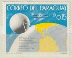 PARAGUAY - 1968 - Y&T Nr. 975   -  Communicatiesateliet- Ongestempeld ** - Paraguay