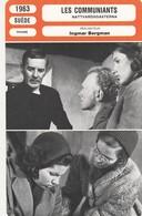 - 1963 - SUEDE -DRAME - LES COMMUNIANTS - 082 - Autres
