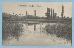 2141  CPA   SIMANDRE-les-ORMES   (Saône-et-Loire)   L'Etang   +++++++++++++++++++++++ - France
