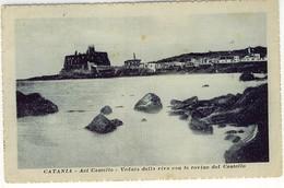 CATANIA ACI CASTELLO VEDUTA DELLA RIVA - Catania
