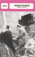 - SUEDE - INGMAR BERGMAN - Période 1945/1960  - 085 - Autres
