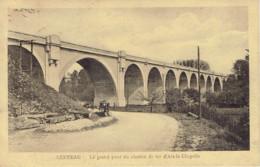 Berneau Le Grand Pont Du Chemin De Fer D'aix La Chapelle Voir Verso Taxe 5c  1923 - Dalhem
