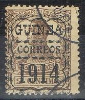 Sello  2 Cts 1912, Habilitado Correos Para 1914 , GUINEA ESPAÑOLA,  Num 66-hab º - Guinea Espagnole