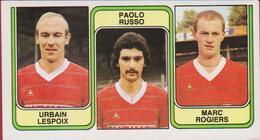 Panini Football 83 Voetbal Belgie 1983 Sticker Nr. 364 FC Beringen Urbain Lespoix Paolo Russo Marc Rogiers - Sport