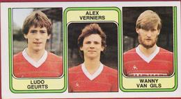 Panini Football 83 Voetbal Belgie 1983 Sticker Nr. 365 FC Beringen Ludo Geurts Alex Verniers Willy Van Gils - Sport