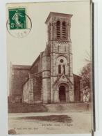 32 - ESTANG - L'EGLISE - ANIMÉE - Ed J. TAPIE - 1910 - TRES BEL ETAT - France