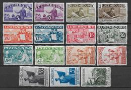 LUXEMBOURG - YVERT N° 259/73 ** MNH LUXE ! - COTE = 1500 EUROS - INTELLECTUELS - Neufs